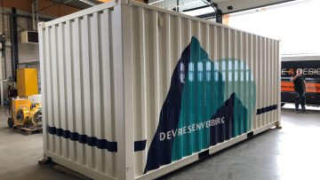 Container belettering